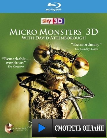 Микромонстры 3D с Дэвидом Аттенборо / Micro Monsters 3D (2013)